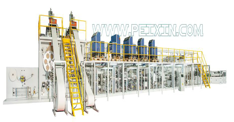 Full-servo Control Full-function Adult Diaper Production Line Featured Image